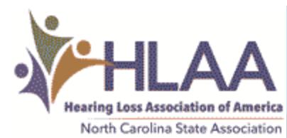 HLAA - NC Logo